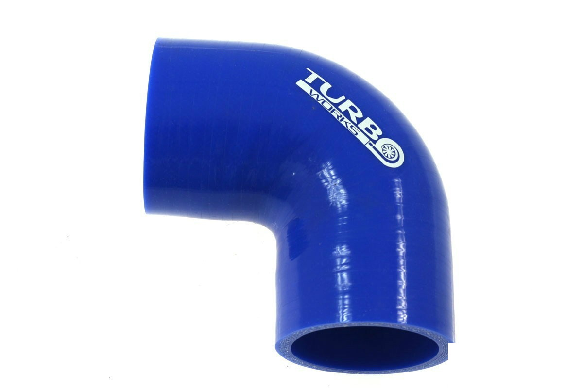 Kolanko 90st TurboWorks Blue 89mm - GRUBYGARAGE - Sklep Tuningowy