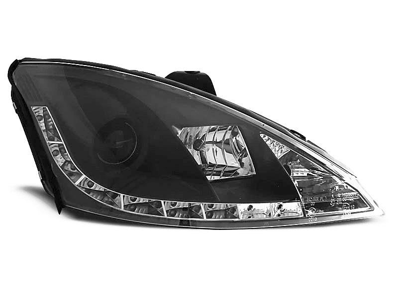 LAMPY  FORD FOCUS 10.98-10.01 DAYLIGHT BLACK - GRUBYGARAGE - Sklep Tuningowy