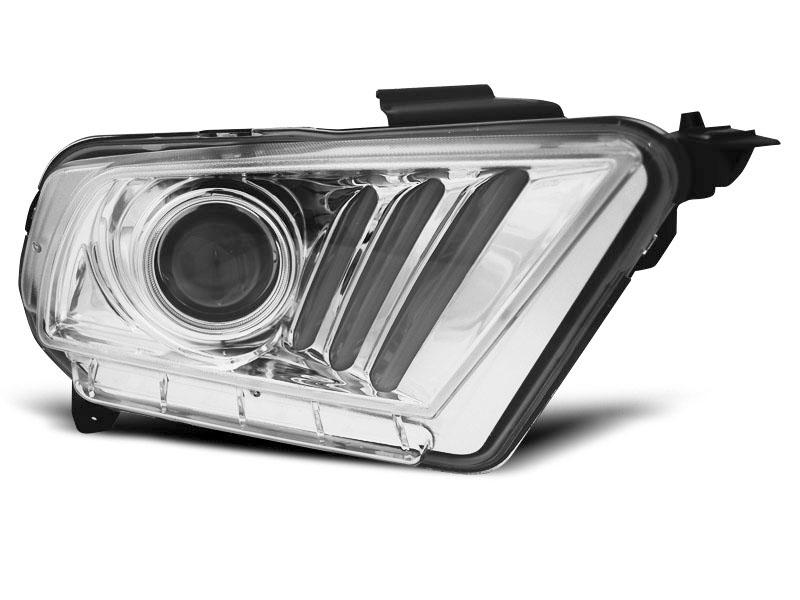 LAMPY FORD MUSTANG V 10-13 TUBE LIGHT CHROME - GRUBYGARAGE - Sklep Tuningowy