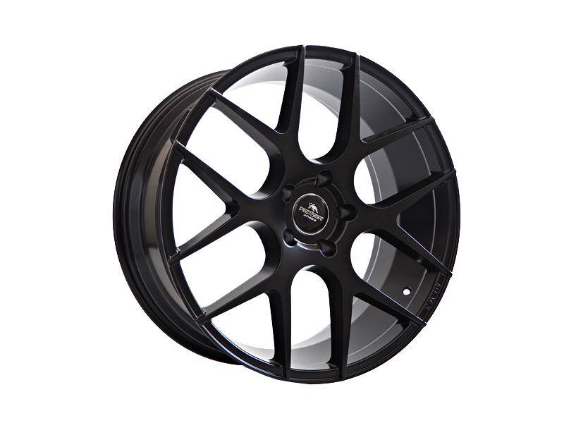 Forzza Ambra 10.5x20 5x120 Satin Black - GRUBYGARAGE - Sklep Tuningowy
