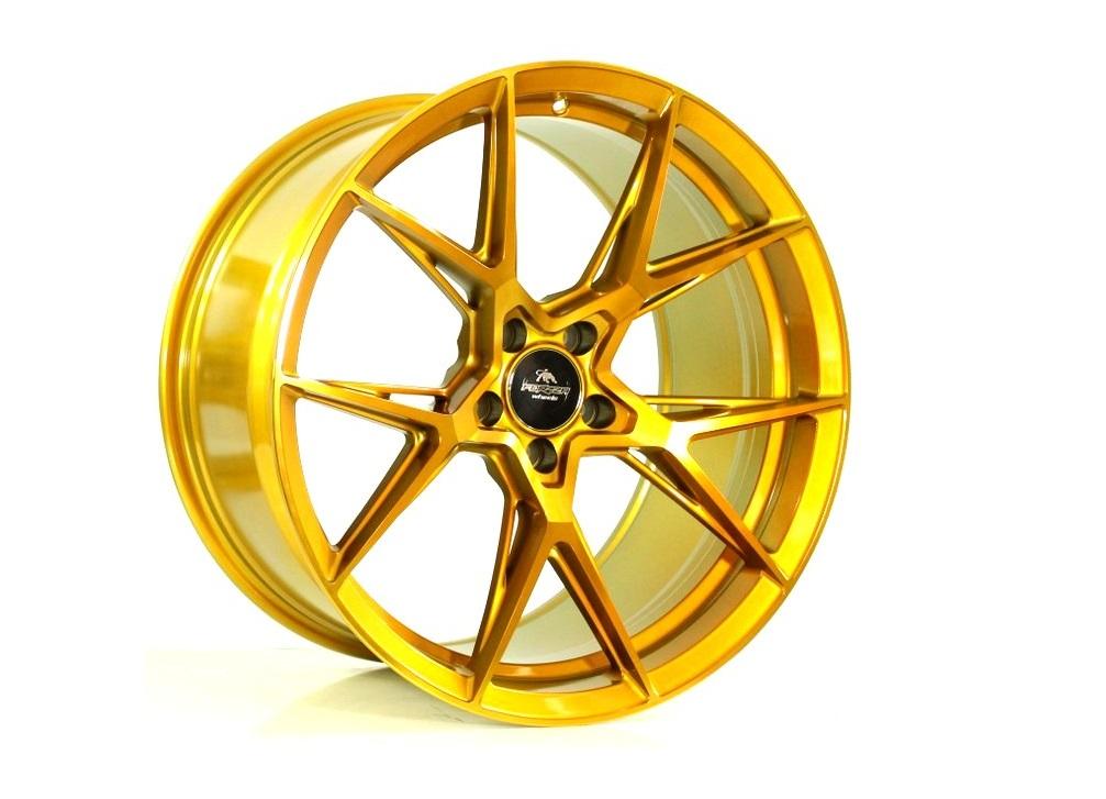 Forzza Oregon 8.5x19 5x120 ET32 Golden Amber - GRUBYGARAGE - Sklep Tuningowy