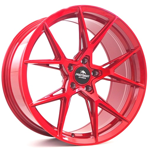 Forzza Oregon 9.5x19 5x120 ET38 Candy Red - GRUBYGARAGE - Sklep Tuningowy