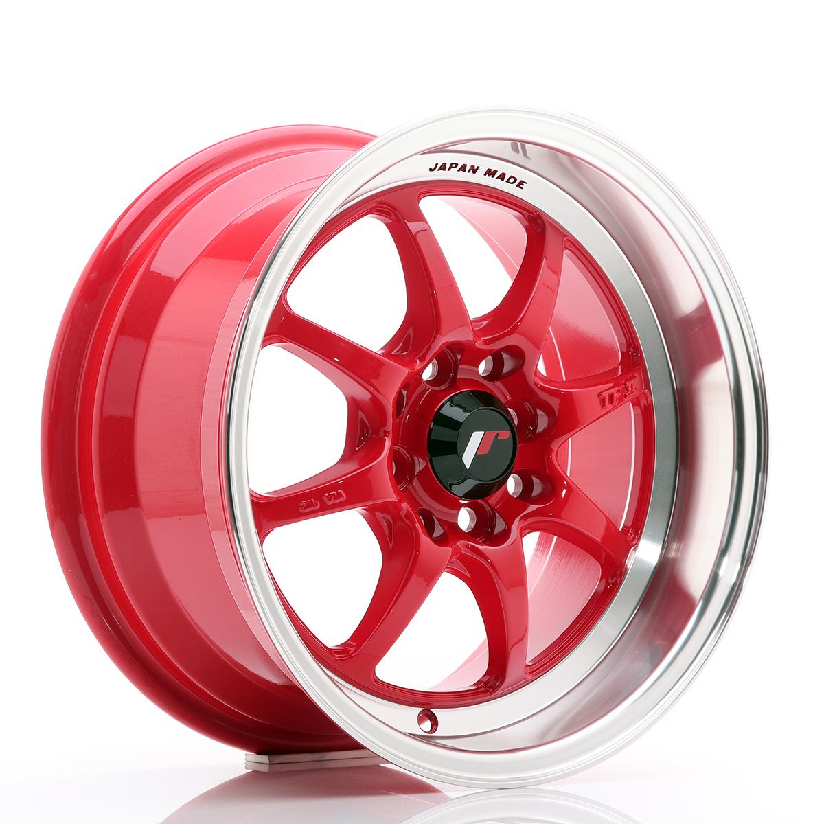 JAPAN RACING TFII 15x7.5 4x114.3 Red - GRUBYGARAGE - Sklep Tuningowy