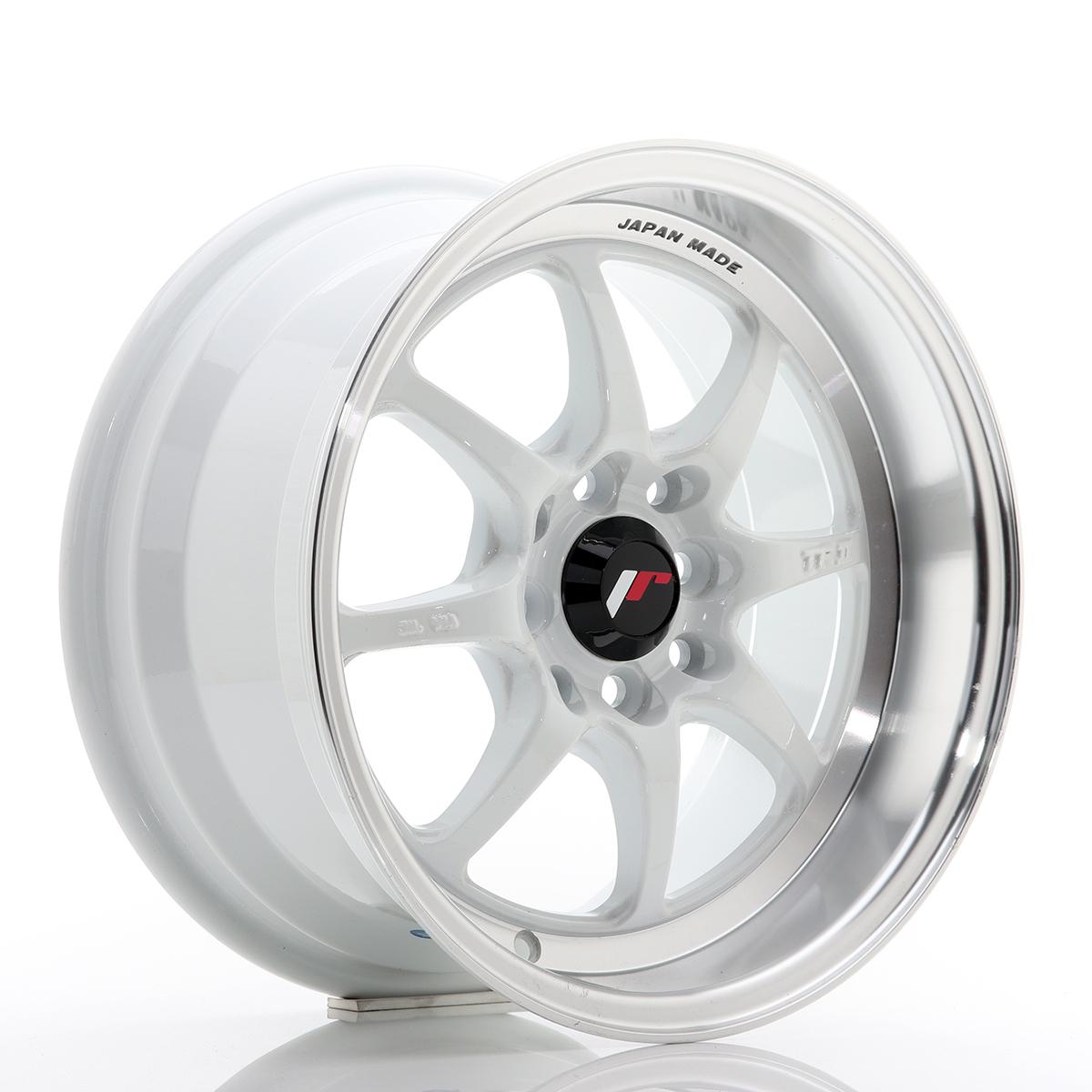 JAPAN RACING TFII 15x7.5 4x114.3 White - GRUBYGARAGE - Sklep Tuningowy